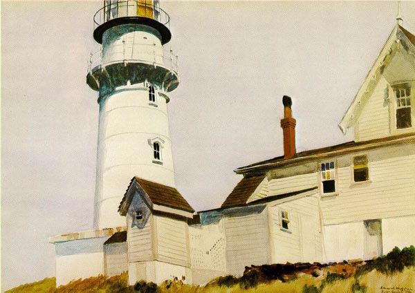 Light at Two Lights by Edward Hopper