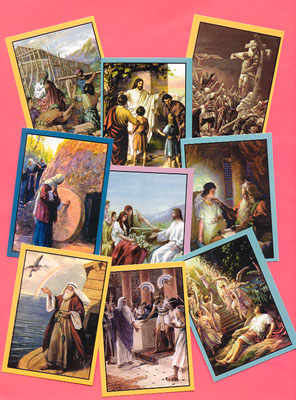 Bible Character Cards