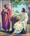 Bible Lessons - Jesus with a Disciple